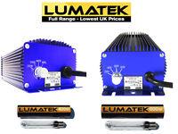 Lumatek Digital Ballast & Bulbs 250w, 400w, 600w 1000w