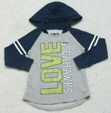 NFL Team Apparel Kids Hooded Shirt Top Hoodie Size Five 5 Cotton Polyester Boys