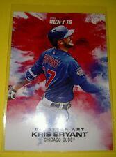 2016 Topps Bunt (Online Exclusive) KRIS BRYANT Splatter Art Print Run 457 CUBS