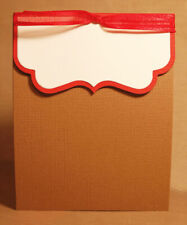 Custom order - 20 cards, A2 Long Card with Bracket Flap