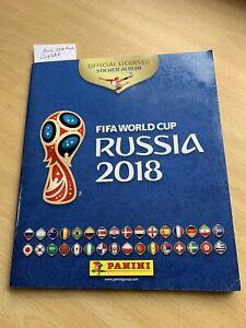 Panini Russia 2018 World Cup - 100% Complete Full Sticker Album - Great Example