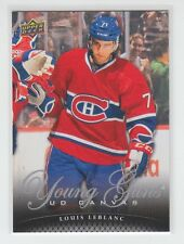 (63905) 2011-12 UPPER DECK CANVAS LOUIS LEBLANC YOUNG GUNS #C223