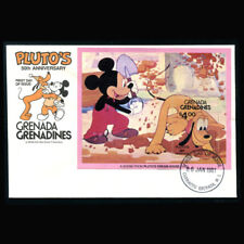 Disney FDC Grenada Grenadines, 1981 Pluto's Dream House, GG223