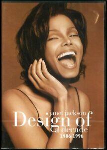 Janet Jackson - Design of a Decade 1986/1996 - DVD - Region 0 - FAST POST
