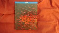 Seven (Se7en) (Blu-ray Disc, 2011, DigiBook)