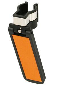 Black Cane Holder with Reflective Strip