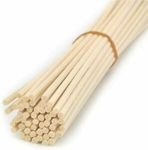 100 Pieces Natural Rattan Reed Diffuser Replacement Sticks Home Fragrances Decor