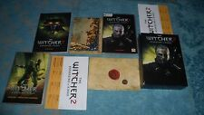 jeu PC - coffret THE WITCHER 2 ASSASSINS OF KINGS COLLECTOR - GB - guide bonu
