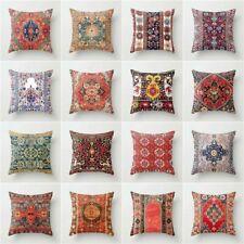 Artificial Bohemian pillows case throw cushion cover for sofa car Bed Home Decor