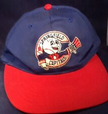 Springfield Capitals Baseball Cap Retro Now Defuct Rare One Size