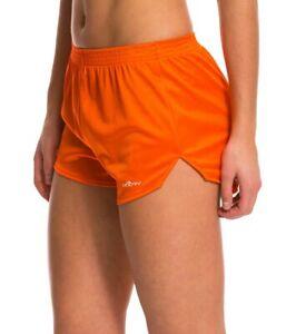 L Orange Dolfin Logo Shorts Running Shiny Holiday Lingerie Hooters Uniform