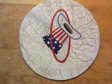 USAF HAT IN THE RING PATCH LEATHER SQUADRON
