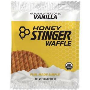 Honey Stinger Organic Stinger Energy Waffles 30G Box Of 16 Vanilla Bike