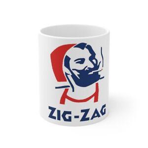 Zig Zag Men Vintage Coffee Cup Mug 11oz