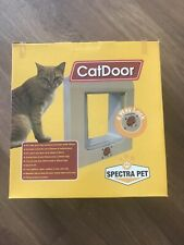 Spectra Pet Cat Flap 4 Way Lock + Installation Kit NEW