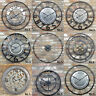 Vintage Large Round Clocks Wall Mountable Distressed Rustic Metal Frame Analogue