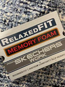 Sketchers WORK Slip Resistant Work Shoes Size 8.5 Women MEMORY FOAM! NEW BOXED