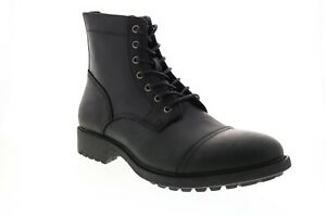 Frye & Co. Cody Lace Up 80645 Mens Black Leather Casual Dress Boots
