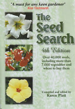 The Seed Search by Karen Platt - Alan Titchmarch 4th ed Aus Seller~Fast n Free
