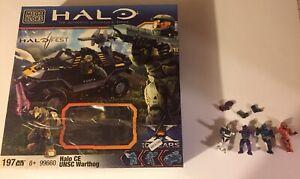 Halo Fest Exclusive Mega Bloks 99660 Halo CE UNSC Warthog - LE of 5000 -