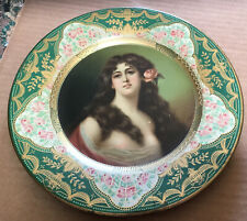 Anheuser Busch Beer Tray Woman with nipples Vienna Art Plate type 1909