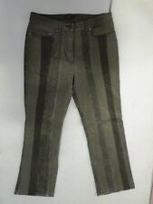 S. Oliver Kwix Jeans Hose Mintgrün Gestreift W30 L32