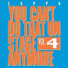 2 CD Set You Can't Do That on Stage Anymore, Vol. 4 by Frank Zappa