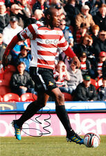 Doncaster Rovers F.C Shelton Martis Hand Signed 11/12 Photo 12x8 1.