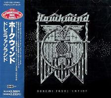 Hawkwind, Doremi, Japan CD, Orig 1st ISSUE +Obi & booklet + Silver Machine! (Fi)