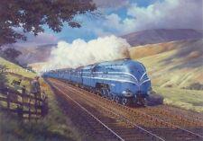 Couronnement Scot LMS duchesse ferroviaire moteur locomotive train vapeur Carte Anniversaire