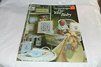 Charted Designs For Your Baby Counted Cross Stitch Leisure Arts 158 Quilt Bib