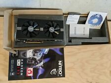 Sapphire Nitro + AMD Radeon RX 580 8GB GPU Gaming Video Card