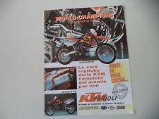 advertising Pubblicità 1998 KTM 540 SXC