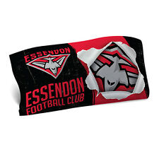 Essendon Bombers AFL Pillow Case Pillowcase Birthday Fathers Gift *NEW 2018*