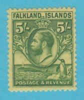 FALKLAND ISLANDS 62 MINT HINGED OG * NO FAULTS VERY FINE !