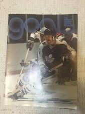 NHL Goal Magazine 1977 Sold At Blackhawks Game December 28 1977 Maple Leafs