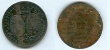 Pièces de monnaie françaises de 5 francs sur Louis XVIII