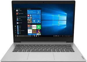 "Lenovo IdeaPad 1 Slim 14"" HD Intel N4020, 4GB, 64GB SSD, Win10 GREY Laptop Ref A"