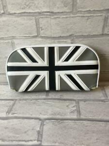 Mod Scooter Slipover Cuppini Backrest Pad Union Jack Black and Silver 004534