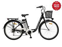 """Bicicletta Bici Elettrica 26"""" H45 250W Cicli Adriatica E-Bike E2 Lady"""