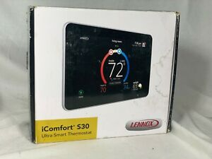 Lennox iComfort S30  Programable WiFi Touchscreen Ultra Smart Thermostat