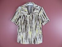 TB03231- ZENERGY By CHICO'S Woman 87% Polyester Blouse Jacket Multi-Color 0 XS-S