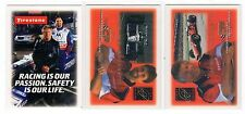 1X 2001 FIRESTONE PROMO SET Mario Michael Andretti 3 cards Lots available NMMT