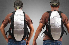 New Backpack Bags Black Back Spine Protector Motorcycle 5/6 Piece Aluminum Armor