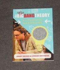 The Big Bang Theory Seasons 6 & 7 Wardrobe Card M34 Leonard  (JOHNNY GALECKI)