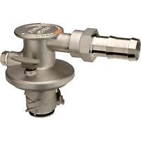 BlueDEF Drum EPV Dispensing Coupler - Stainless Steel, Model# DEF756-008B