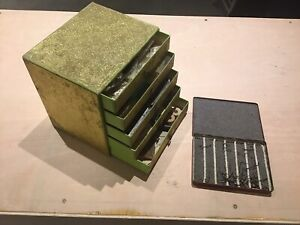 Vintage Large Amount Of Fly Tying box and materials.