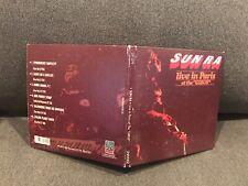 RARE Sun Ra LP LIVE IN PARIS AT THE GIBUS SHRINK SPACE ACID FREE Avantgarde JAZZ