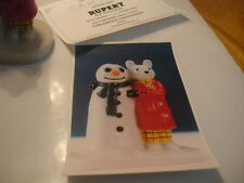 WADE   CAMTRACK CHILDRENS FAVOURITES  LIMITED EDITION RUPERT & THE SNOWMAN