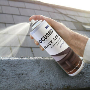 Leak Sealant - Spray n Seal in seconds Black Finish ideal for gutters downpipes